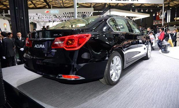 2013上海车展 讴歌旗舰级车型RLX 亮相高清图片