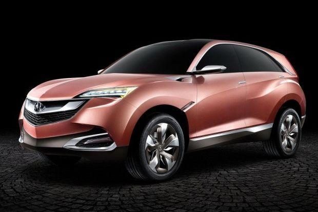 针对中国市场 讴歌计划16年推小型SUV高清图片