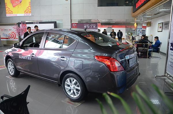 :本月14日,2014款东风日产阳光正式上市,共计7款车型,新车的高清图片