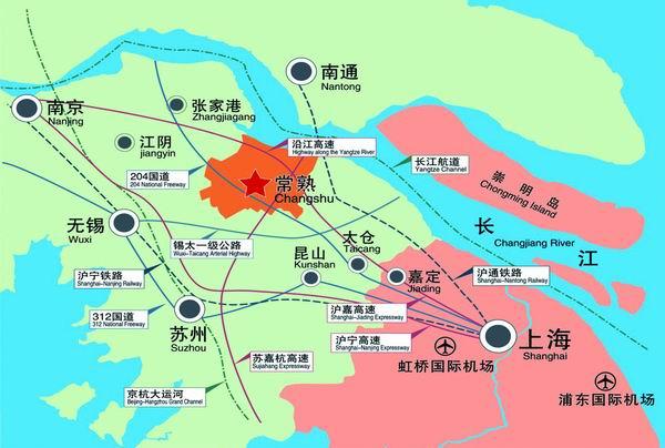 常熟市辛庄镇地图