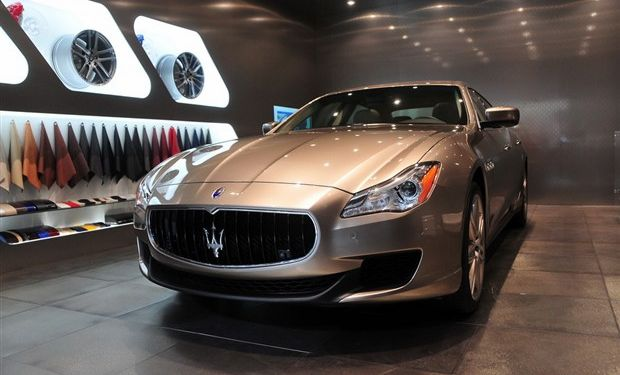 该车有玛莎拉蒂和著名意大利品牌杰尼亚合作的一款车型.