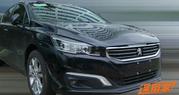 成都车展首发 东风标致新款508实车图高清图片