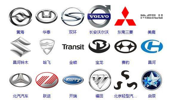 国产汽车标志图片大全高清图片