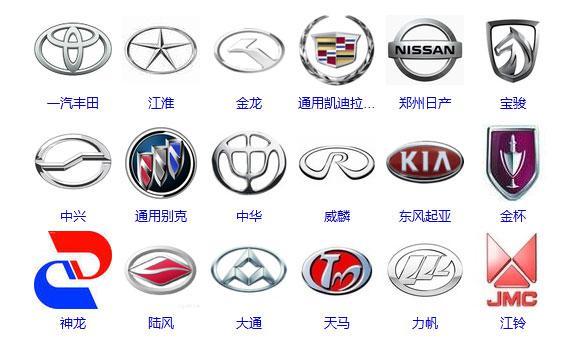 国产车品牌大全_车的所有标志图片大全_汽车品牌标志大全图片 - 随意贴