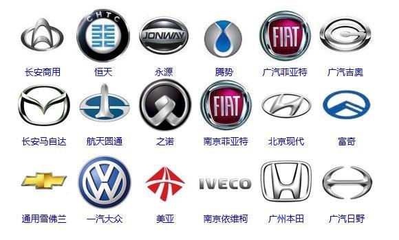 国产汽车标志图片大全