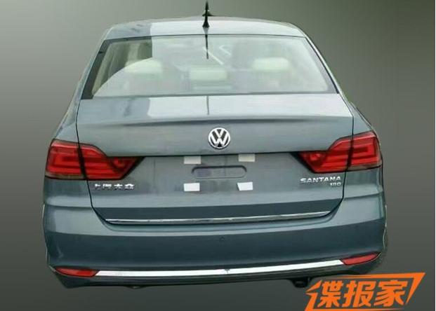 新款桑塔纳将根据配置不同提供天窗和车窗镀铬供消费者选择.