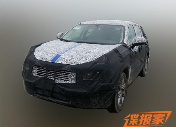『吉利L品牌首款SUV谍照』-概念车同时亮相 吉利L品牌10月19日发布高清图片