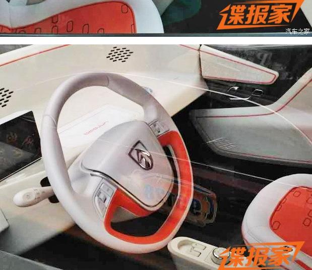 内外细节调整 宝骏E100最新实车图曝光高清图片