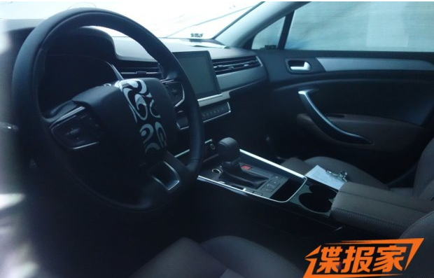 『新款雪铁龙C5内饰谍照』-标致5008等 标致雪铁龙2017年新车展望高清图片