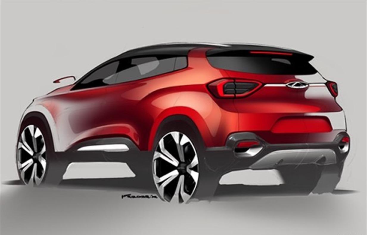 最炫中国风 奇瑞t17量产车设计图公布
