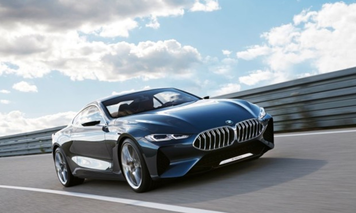 【图】2018年量产 全新宝马8系概念车首次亮相