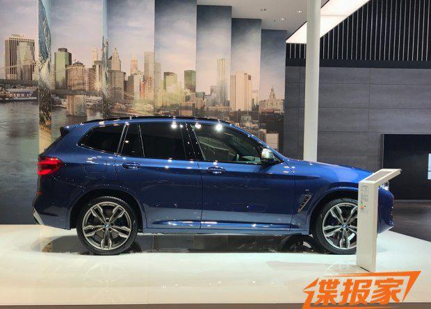 2017法兰克福车展探馆:宝马全新x3