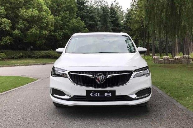 计11月上市 上汽通用别克GL6正式亮相高清图片
