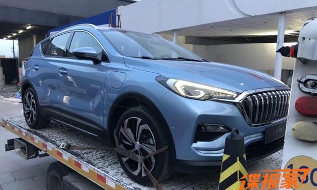 2018北京车展探馆:红旗e-hs3概念车