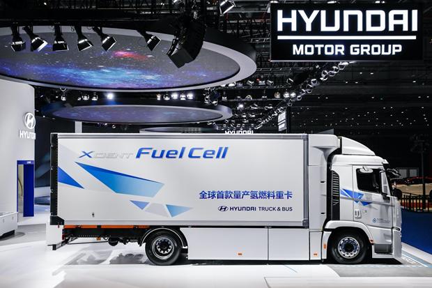 引进氢燃料电池商用车 现代汽车推进氢能和电动战略本土化