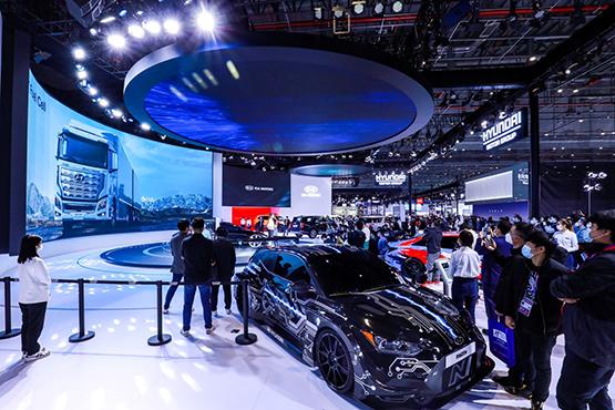 现代汽车进博会发布氢能源及电动化战略