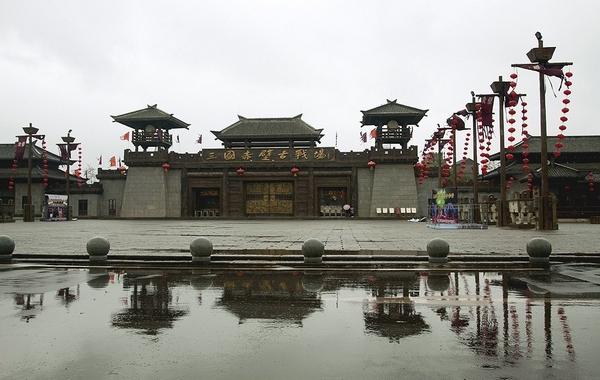 国家aaaaa级风景名胜区三国赤壁古战场.