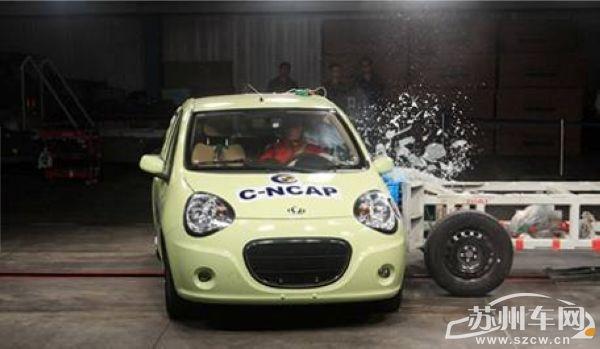 熊猫五星成绩的获得标志着吉利在汽车安全控制领域已经达到了高清图片