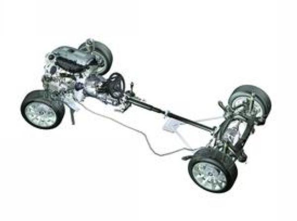 柴油车底盘结构图解