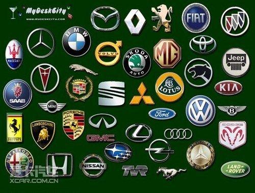 【部分汽车品牌图标】高清图片