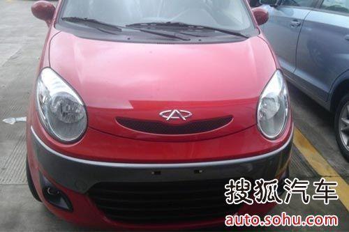 曝奇瑞QQ3运动版谍照 预计今年10月上市高清图片