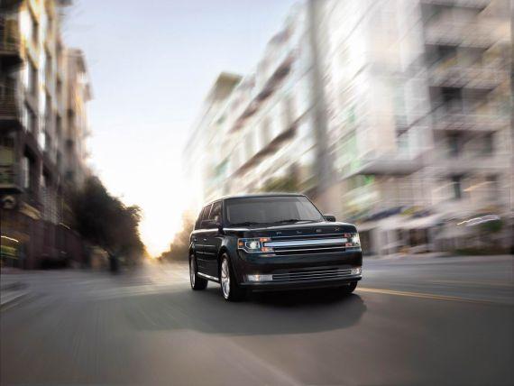 新款福特Flex跨界车型将亮相洛杉矶车展高清图片