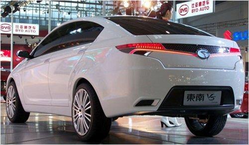 东南汽车自主品牌将推V5 下半年将上市高清图片