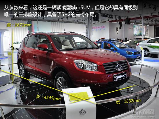 吉利首款SUV 全球鹰GX7将于3月正式上市高清图片