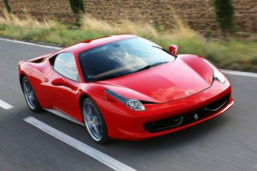 法拉利458改装版曝光 车身变轻可以定制高清图片