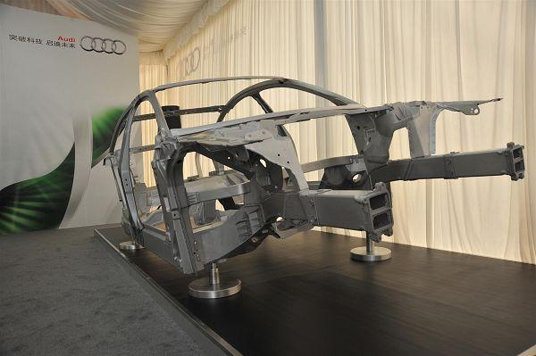 框架结构技术,并在德国内卡苏姆建立了奥迪铝和轻质