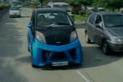 印度最便宜汽车NANO推出第二代 涨价1700美元高清图片