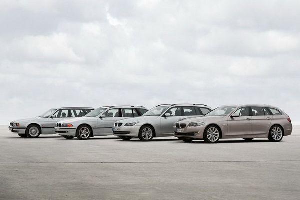 四款车型 新一代宝马5系旅行版官图发布