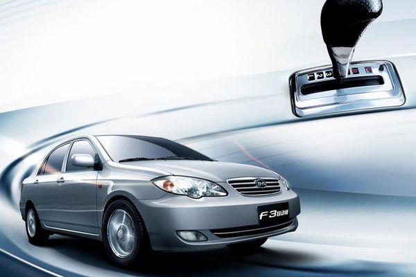 比亚迪F3推1.5L自动挡 或北京车展上市