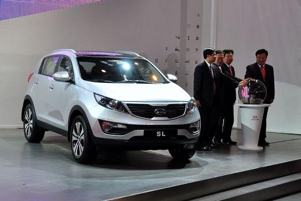 北京车展 东风悦达起亚SUV车型 SL 亮相高清图片
