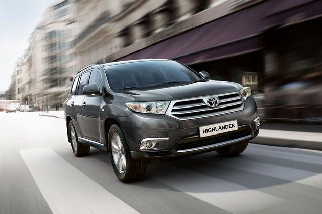 10月海外上市 丰田发布新款汉兰达官图 苏州车