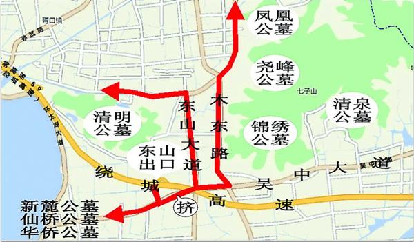 苏州东山西山地图