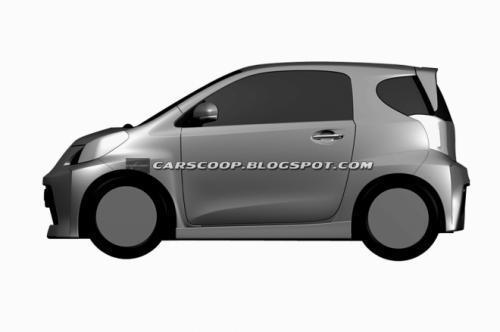 丰田iq运动版专利图曝光 将搭载1.8动力高清图片