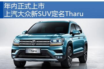 年内正式上市 上汽大众新SUV定名Tharu