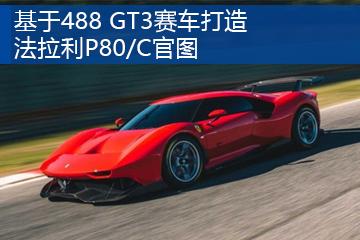 基于488 GT3赛车打造 法拉利P80/C官图