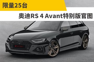 限量25台 奥迪RS 4 Avant特别版官图
