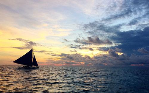 邂逅夕阳下的绝美风景—菲律宾长滩岛自由行