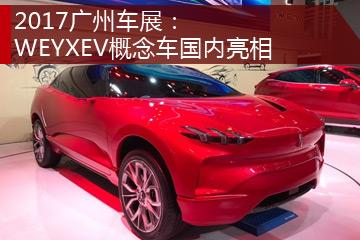 2017广州车展:WEYXEV概念车国内亮相