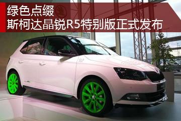绿色点缀 斯柯达晶锐R5特别版正式发布