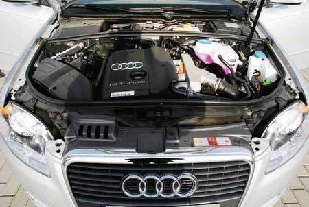 图为新款奥迪A4发动机图片-深入年轻化 新款奥迪A4 图高清图片