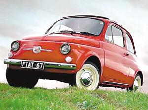 老款菲亚特500-百种性感汽车大排行 菲亚特500名列榜首高清图片