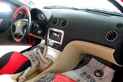 吉利美人豹2代样车 跑 进苏城高清图片