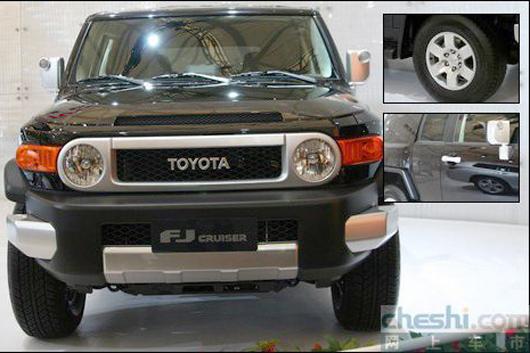 丰田复古SUV FJ预计售60万 12月3日上市高清图片